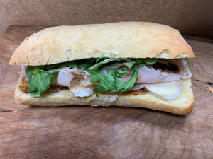 Cioffi's Turkey & Brie Sandwich