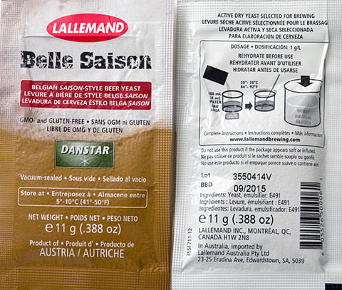 Yeast Lallemand Belle Saison - Beyond The Grape On-Premise Winemaking & Home Brewing Supplies