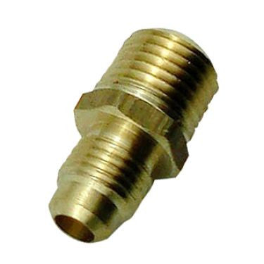 Brass Adapter 1/4mfl X 1/4mpt - Beyond The Grape On-Premise Winemaking & Home Brewing Supplies