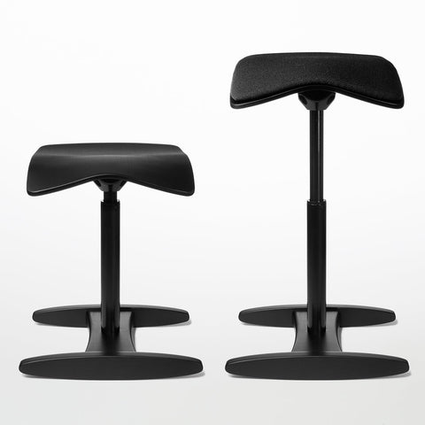 Black Tic Toc Chair with and without cushion