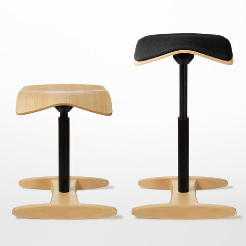 Natural Tic Toc chair with and without cushion