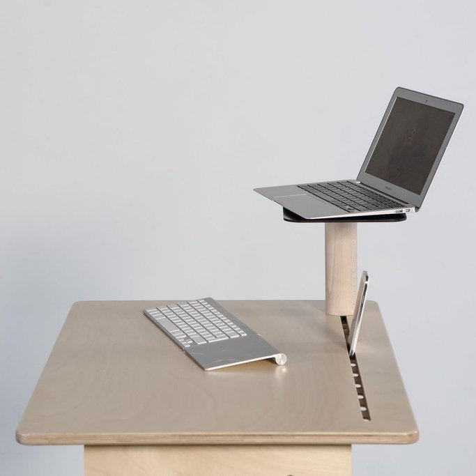 Screenup for the nomad wooden standing desk
