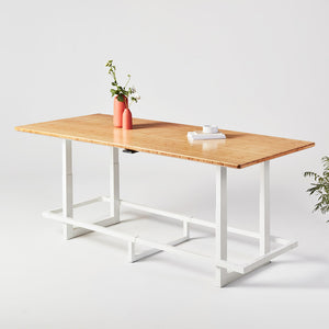 Jarvis Bamboo Adjustable Height Conference Table