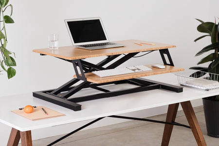 Standing desk converter; Best standing desk converter; easy adjustable in height spacious and beautiful standing desk converter