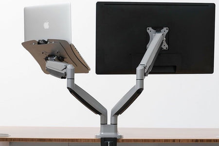 Best monitor arms for your desk; sleek monitor arms; monitor arms for stranding desks