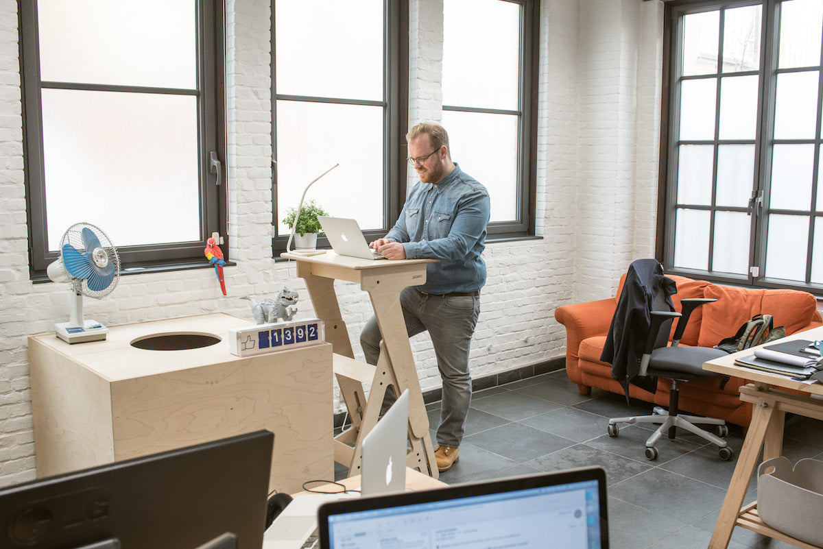 StandUp standing desk at the Office