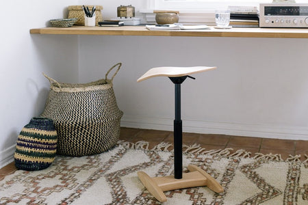 Erngonomic stool; Rocking chair; stool for standing desk; Rocking and active seating chair tic toc