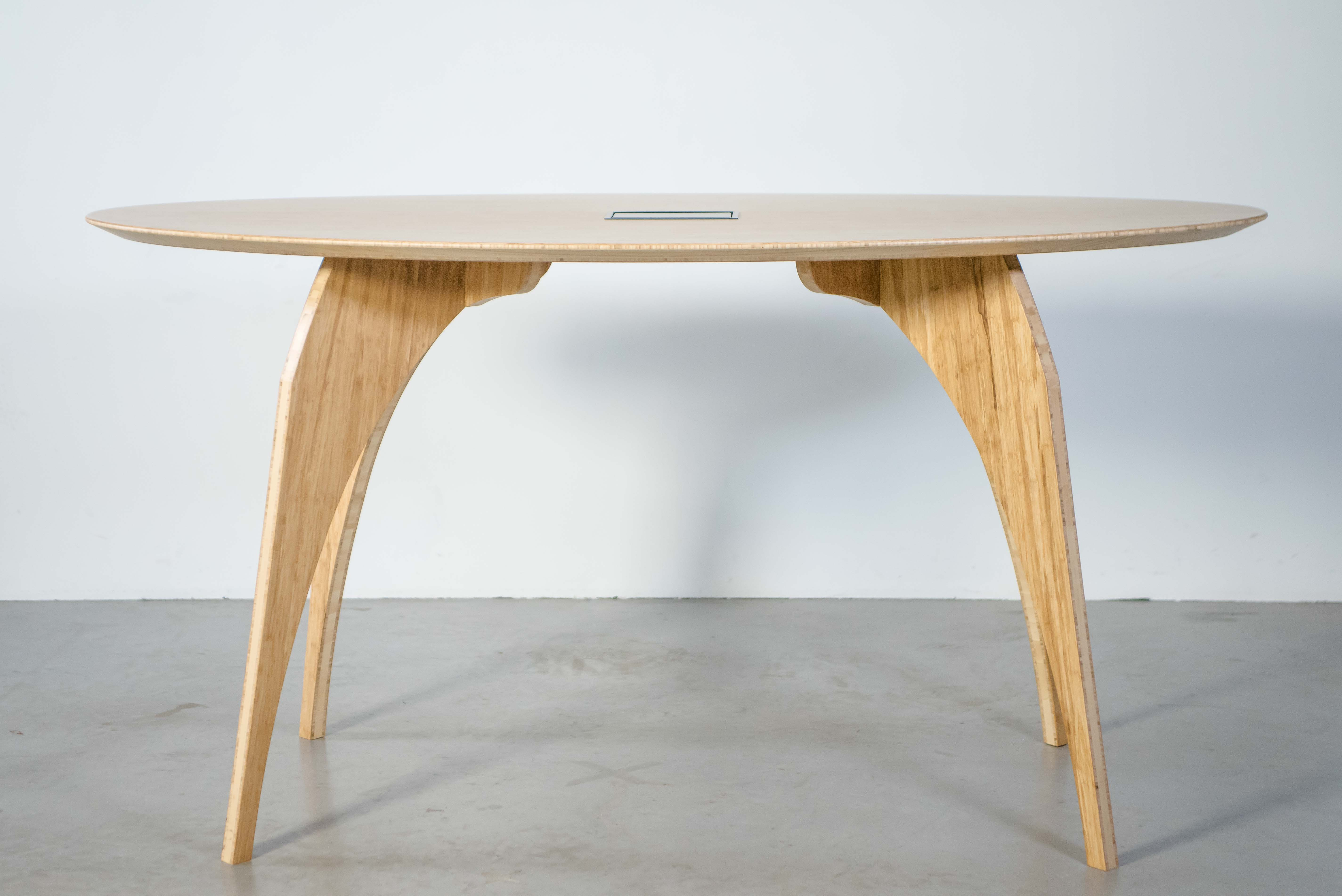 Wooden Standing Meeting Table - MeetUp
