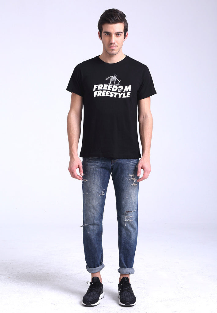 Freedom Freestyle Black Tee