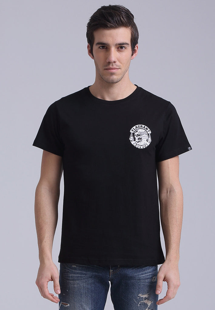 Nowhere To Hide Black Tee