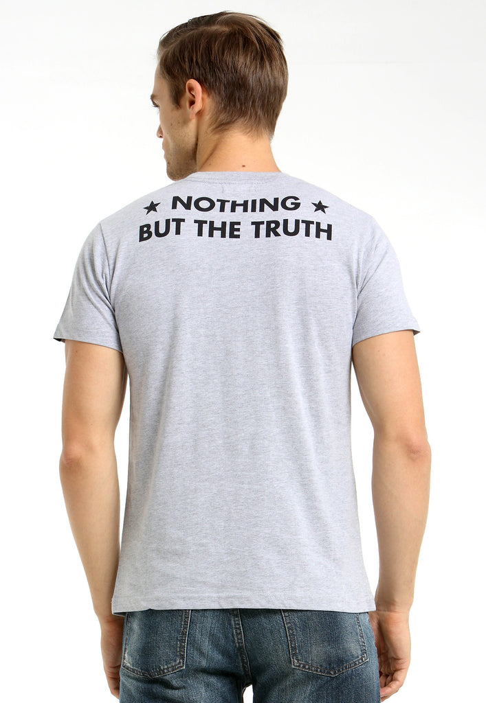 Nothing But The Truth Grey Tee