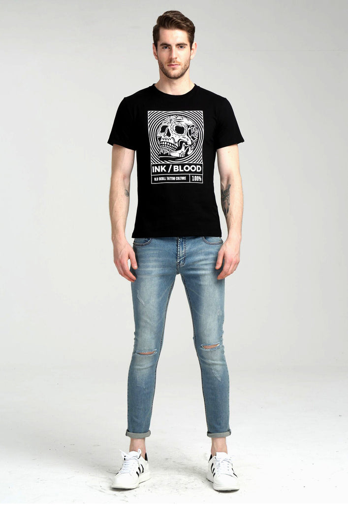 Ink & Blood Black Tee