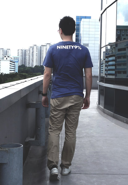 Ninty Nine Percent Navy Blue Tee