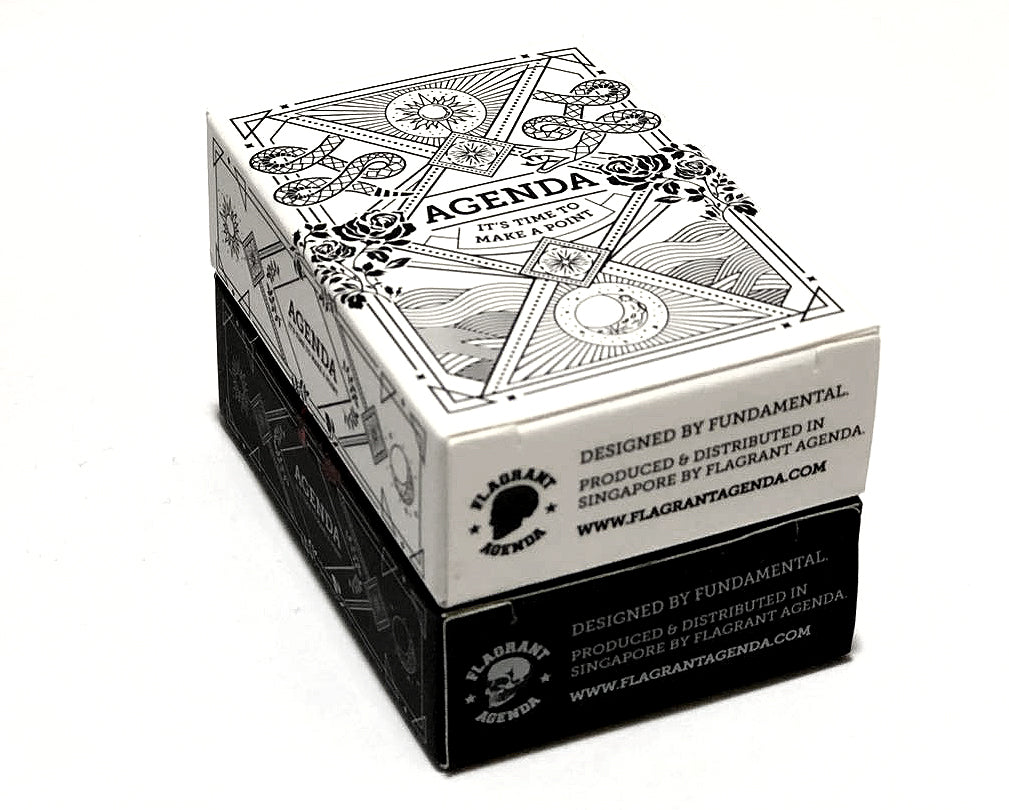 Agenda Playing Cards (White Mini)