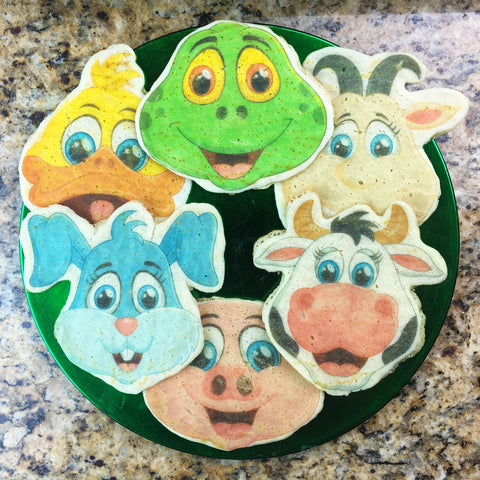 Barnyard Animal Faces