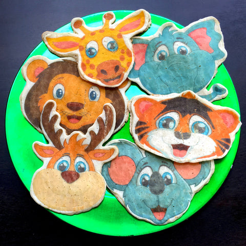 Zoo Animals - Pancake Art Transfer Papers