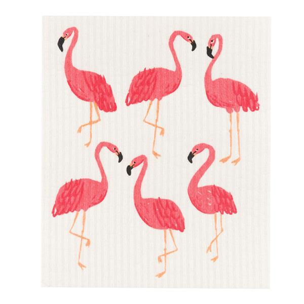FLAMINGO - dishcloths