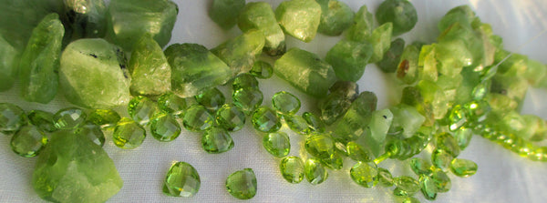August Birthstones - Peridot