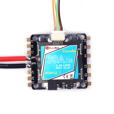 SUNRISE CICADA 30A BLHELI_S 4-IN-1 ESC