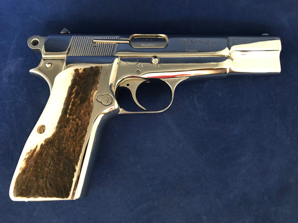 Browning Hi Power Elk Horn #A1101
