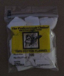 .17/.177 Cotton Flannel Square 200 count