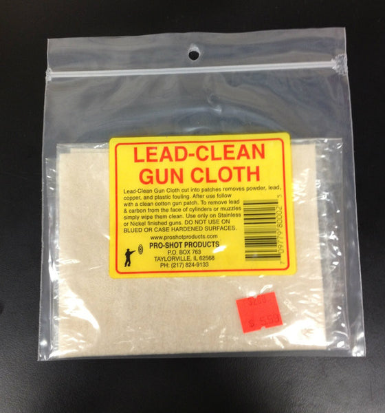 Pro Shot Lead-Clean Gun Cloth