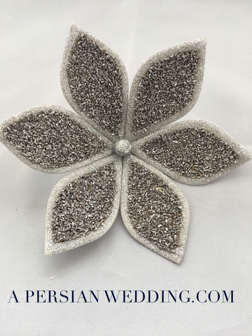 Silver Espand (Esfand) Flower for Persian Wedding Sofreh Aghd + Digital Guides
