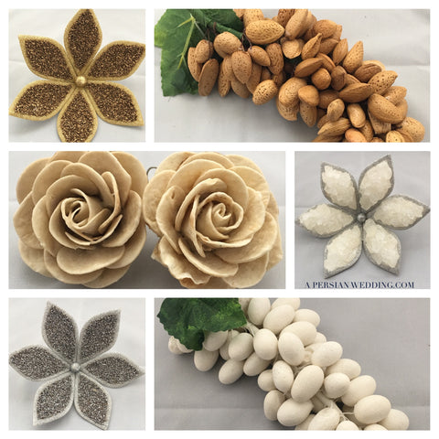 A MarriedPersian Luxury Sofreh:  Handmade Sofreh Aghd Supplies