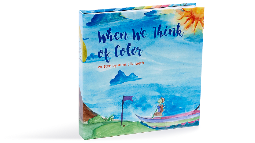 When We Think of Color Book Image for Toddlers