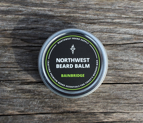 Bainbridge Beard Balm - Northwest Beard Supply - 1