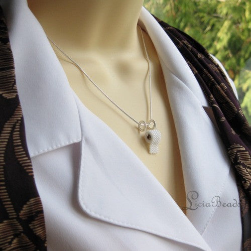 Toilet Paper Necklace in sterling silver, plated or gold tone, hand rolled to order