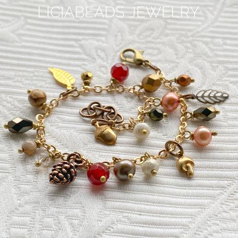 It's Autumn, here's a reminder bracelet