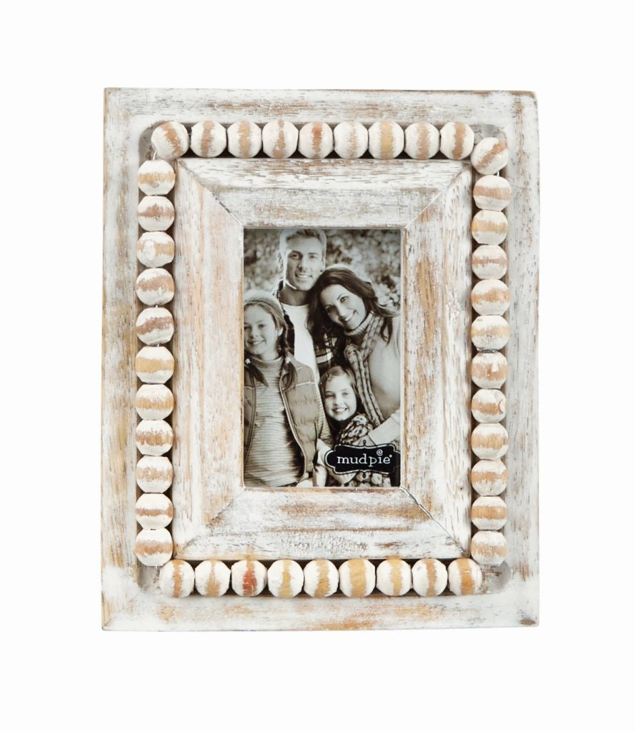 Small White-Wash Picture Frames