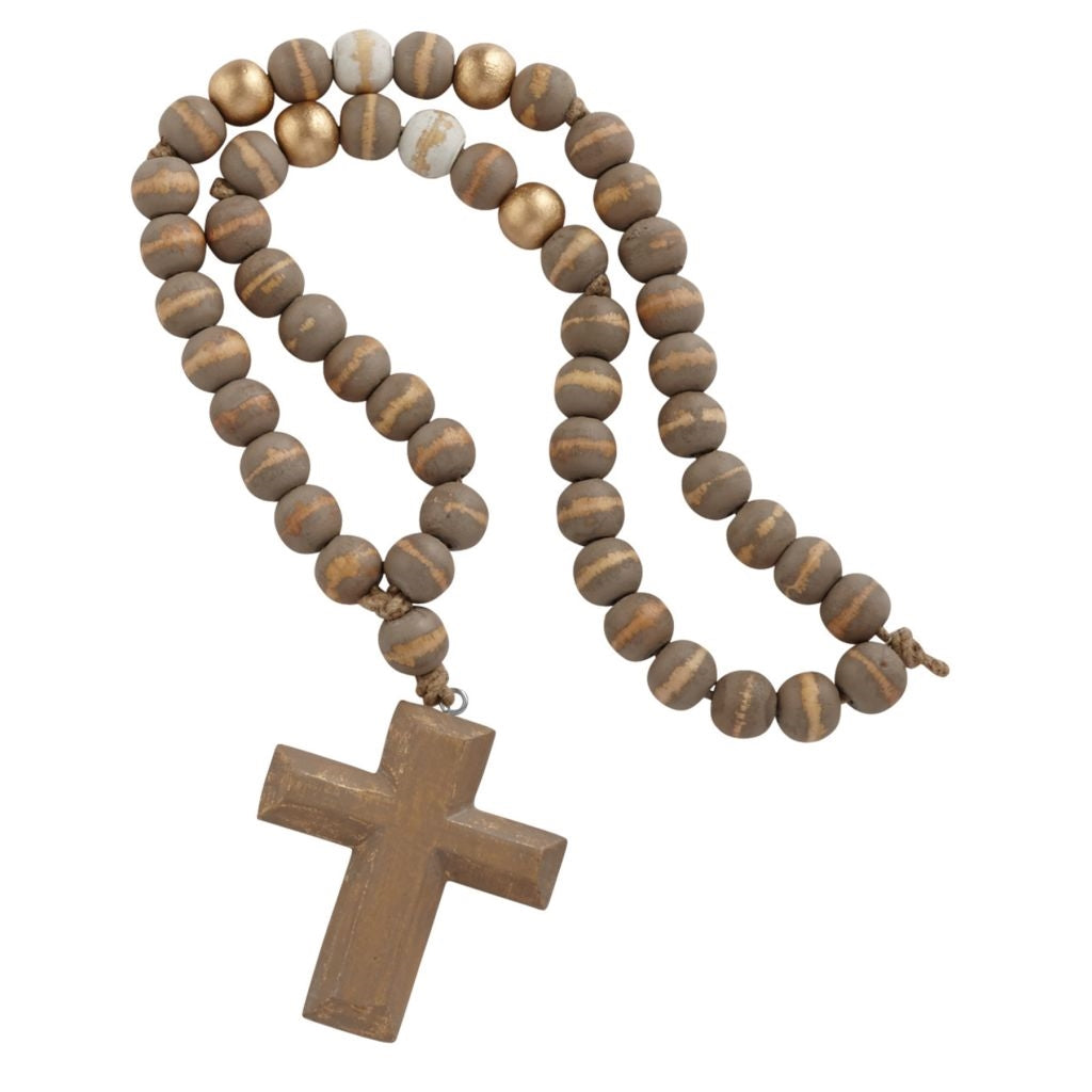 Cross Pendant Decor Beads