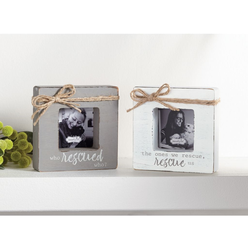 Rescue Pet Block Frame