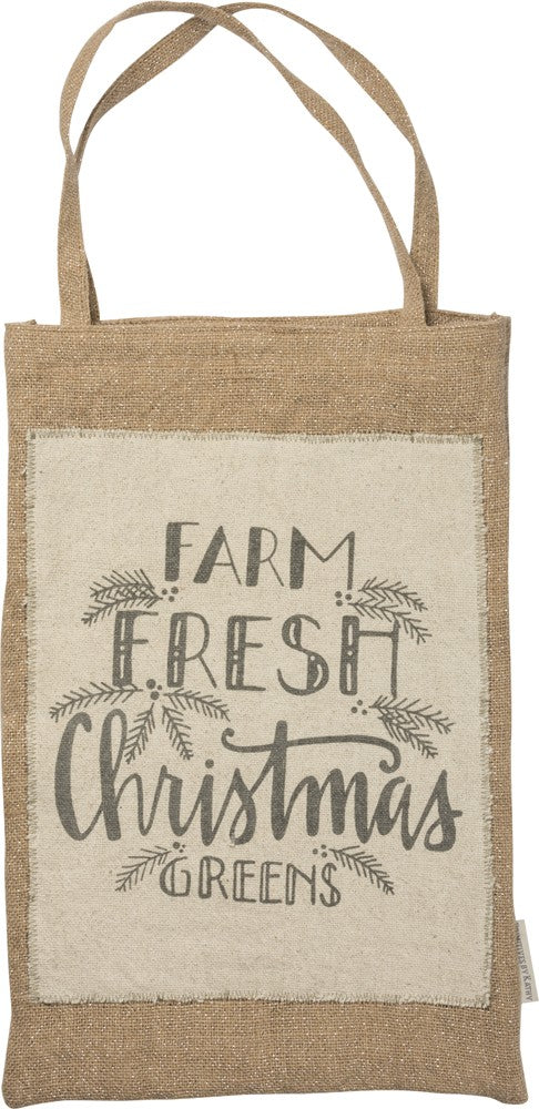 Farm Fresh Christmas Greens Bag