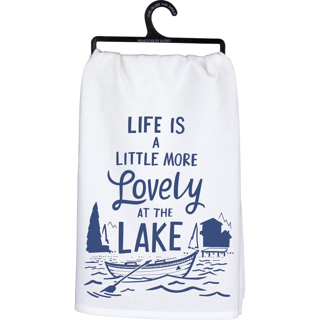 Lake Tea Towel