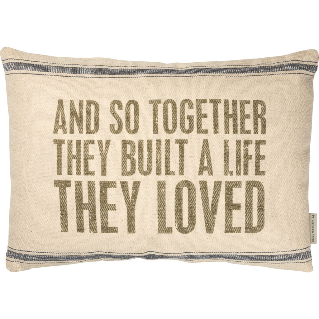 Life They Loved Pillow