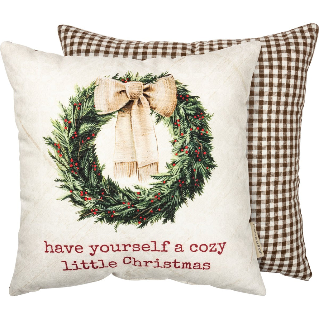 Cozy Little Christmas Pillow