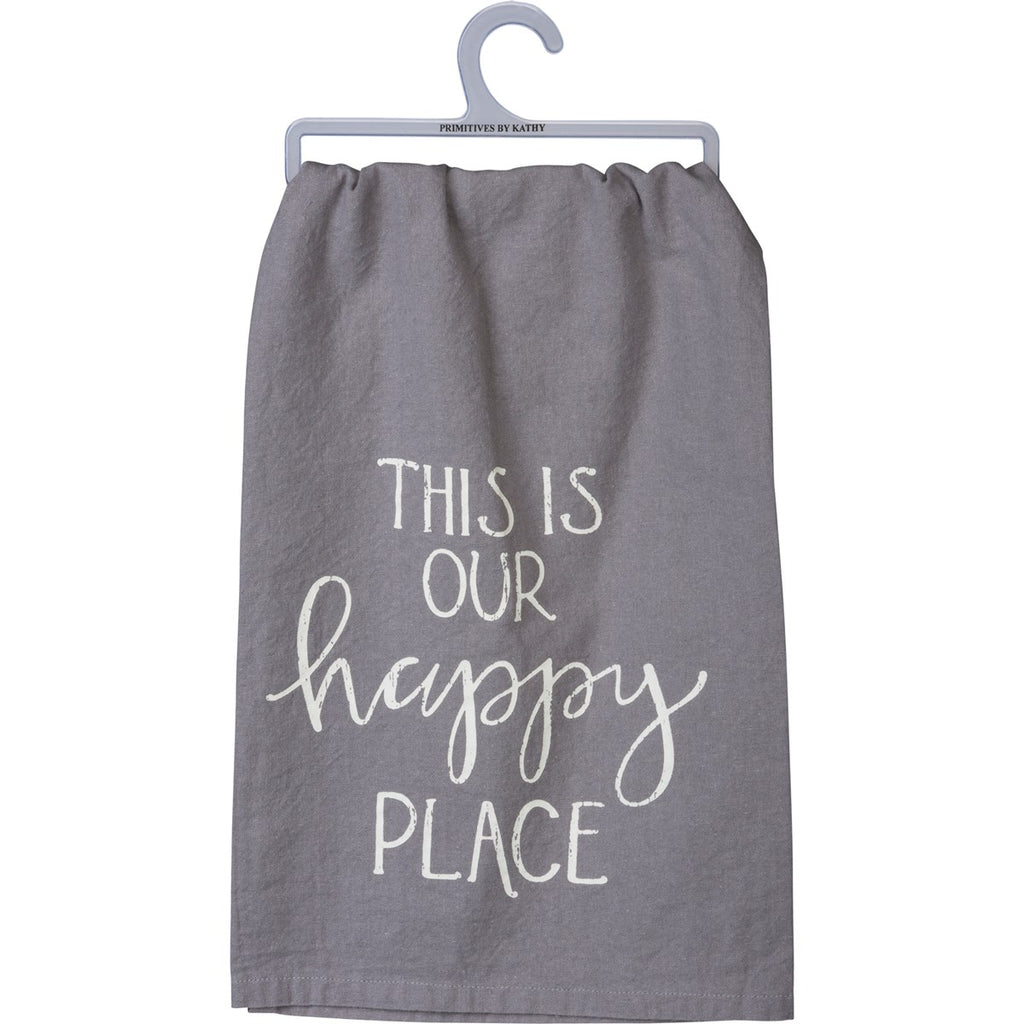 This Is Our Happy Place Tea Towel