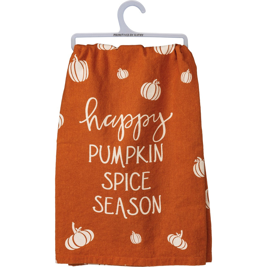 Happy Pumpkin Tea Towel