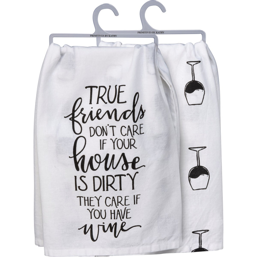 True Friends Tea Towel