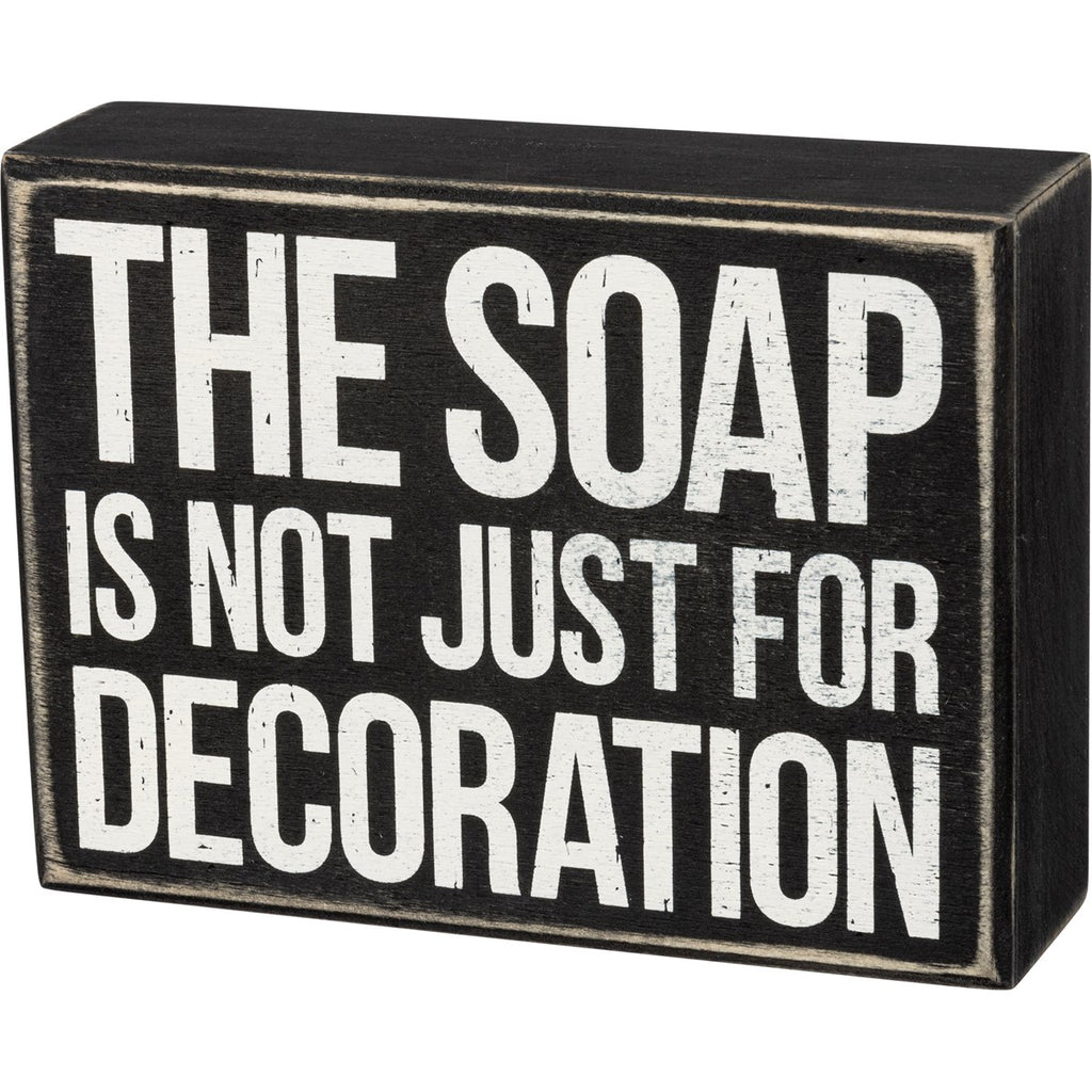 Decoration Box Sign