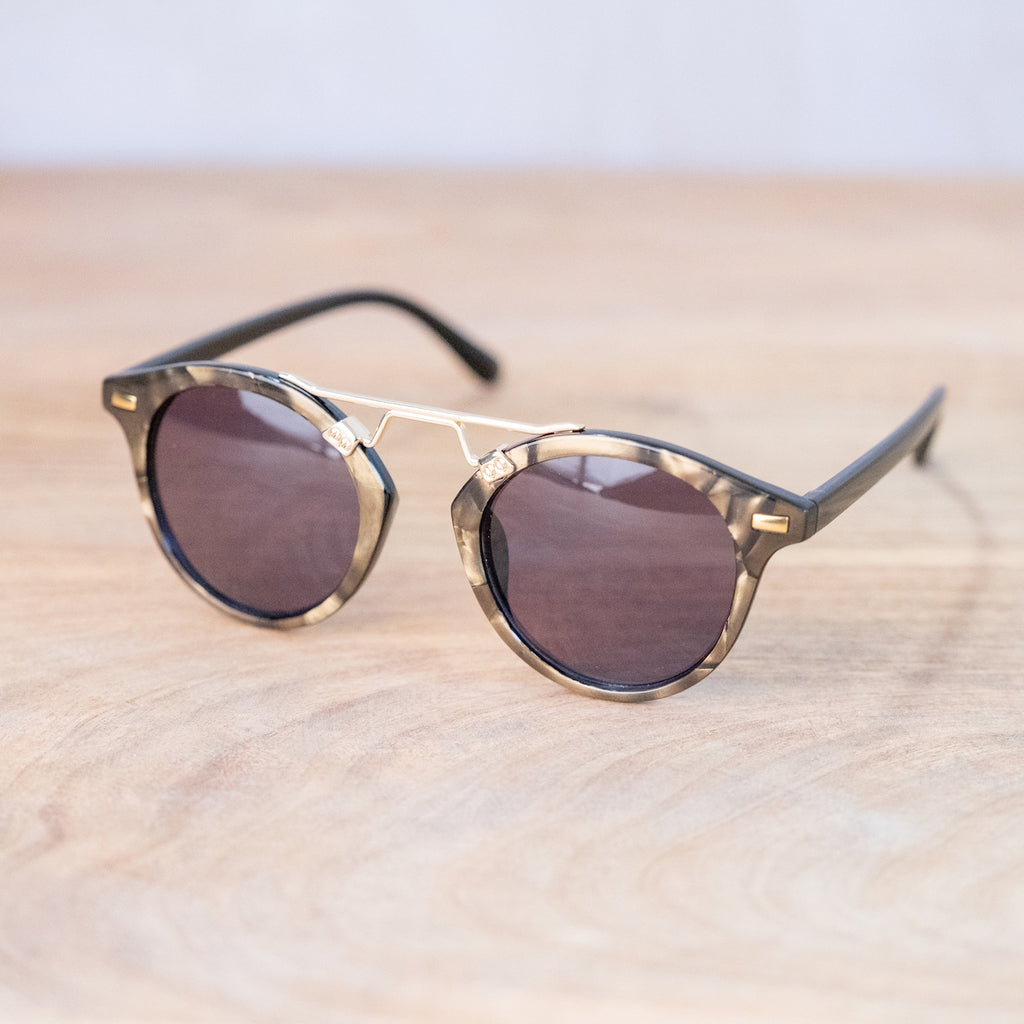 St. Augustine Sunglasses-Gold/Black
