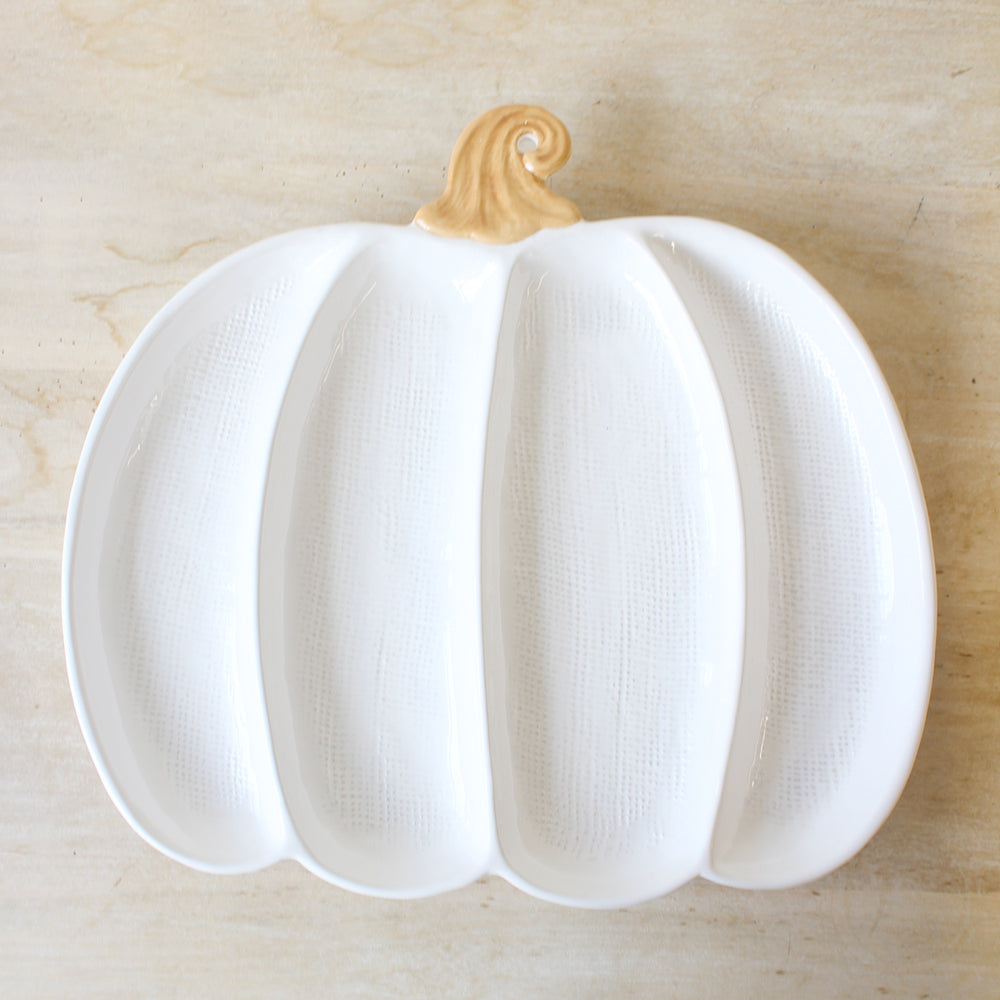 Divided Pumpkin Dish