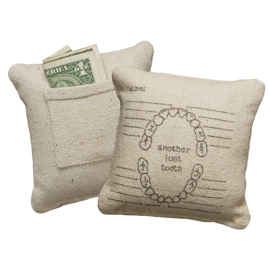 Another Lost Tooth Pillow