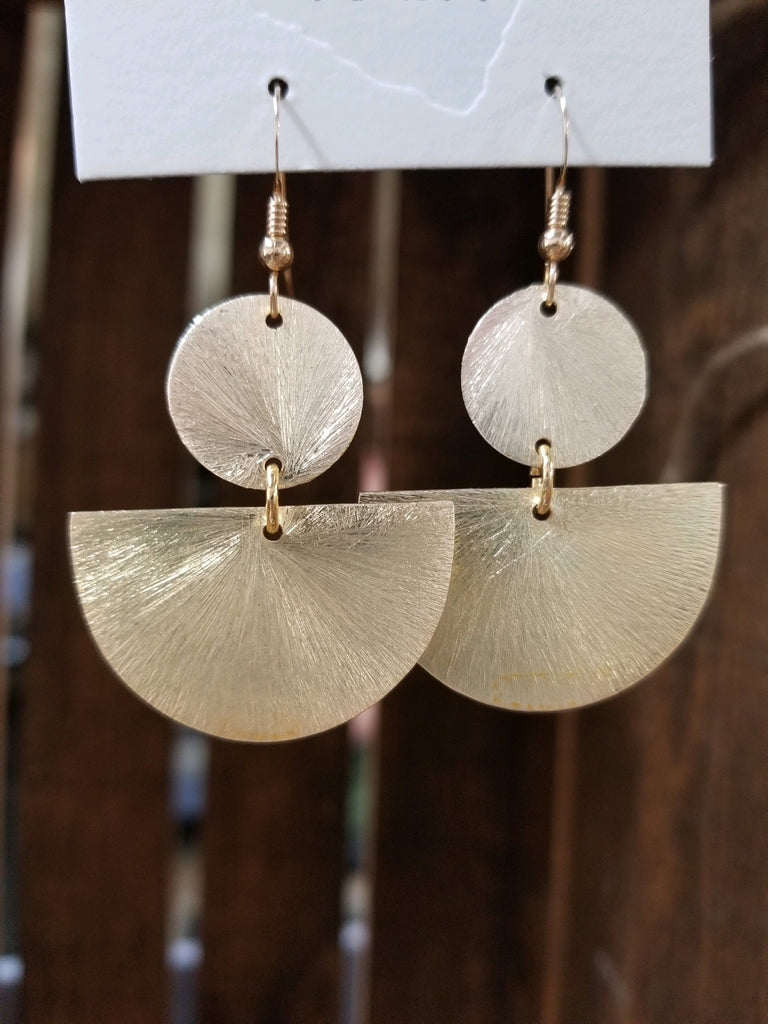 Gold Mila Dangle Earrings