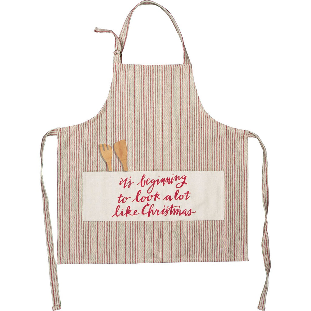 A Lot Like Christmas Apron