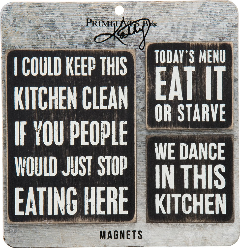 Kitchen Magnet Set