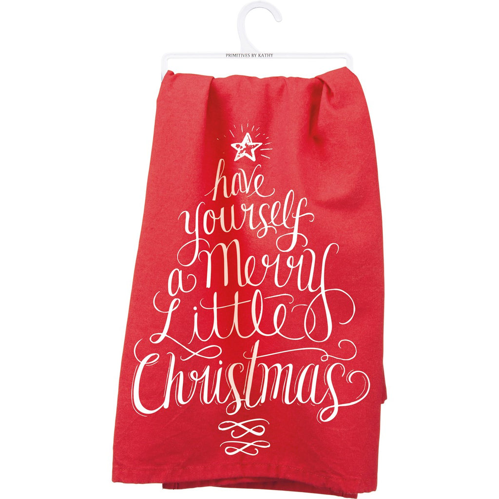 Merry Little Tea Towel